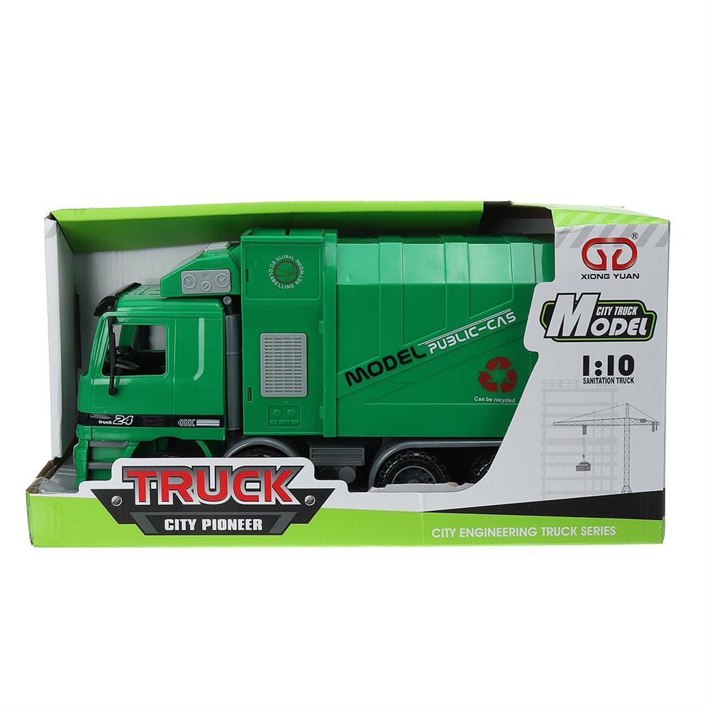 blocks-track-toys Adjustable Garbage Truck Pull Back Car Model Toys Kids Gifts HOB1629873 1