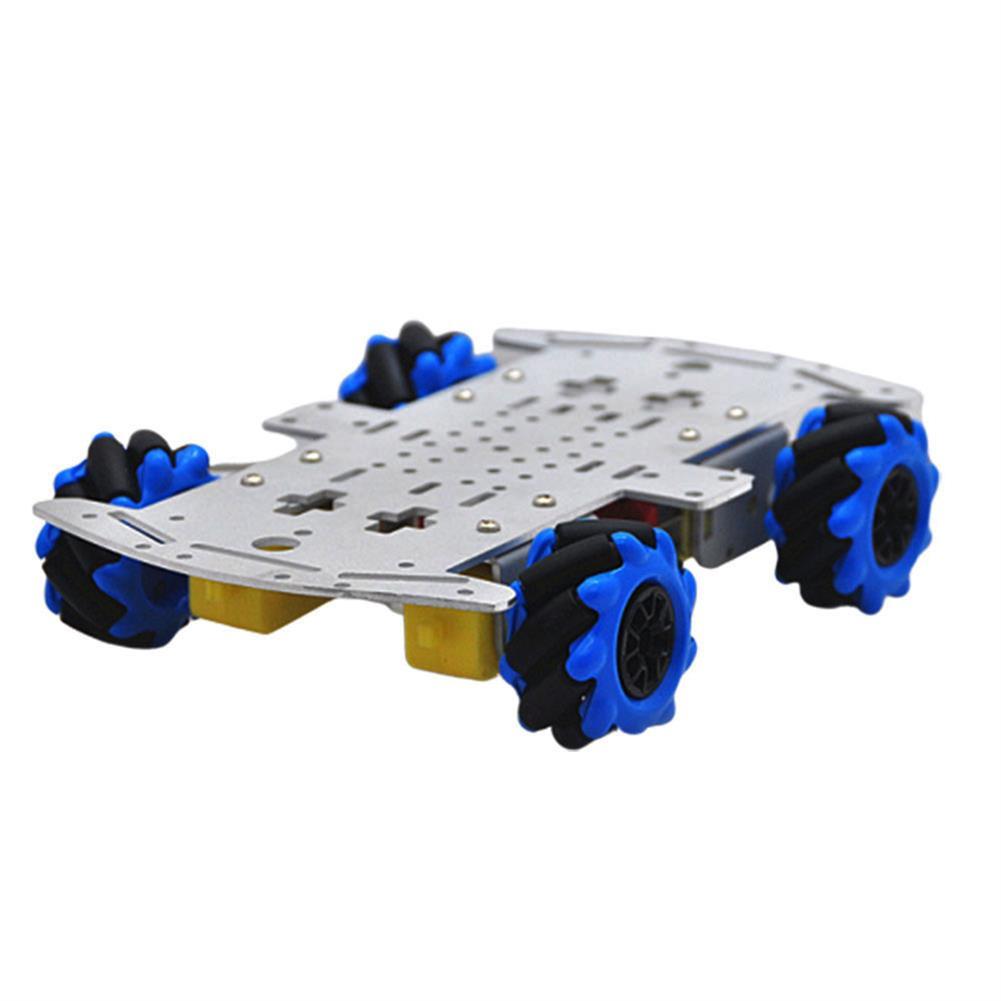 smart-robot-car D-42 DIY Smart RC Robot Car Chassis Base with 48mm Omni Wheels TT Motor HOB1631254