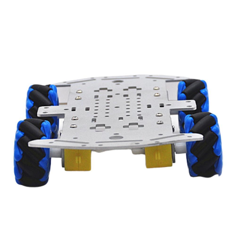 smart-robot-car D-42 DIY Smart RC Robot Car Chassis Base with 48mm Omni Wheels TT Motor HOB1631254 1