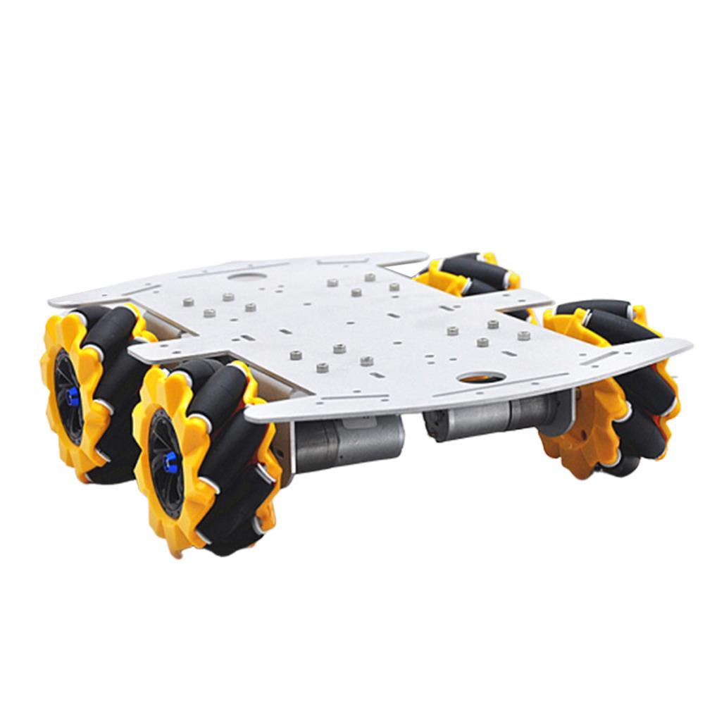 smart-robot-car D-46 DIY 4WD Smart RC Robot Car Chassis Base with Omni Wheels HOB1631260