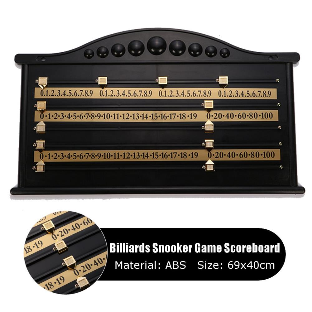 puzzle-game-toys Plastic Billiards Scoreboard Snooker Game Scorer Board Player Calculation Number Toy HOB1631704