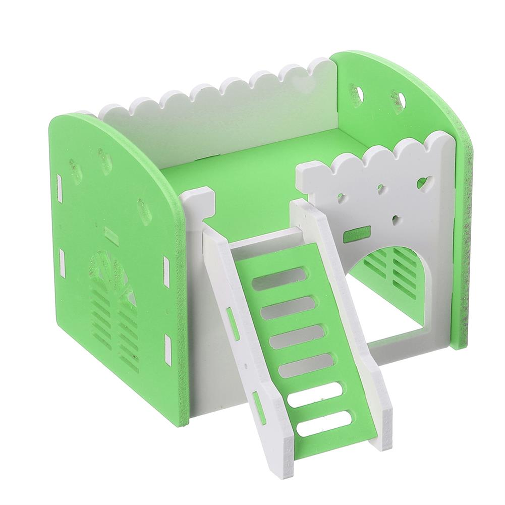 puzzle-game-toys Dual Layer Ladder Hamster House Small Animal Pet Mouse Cage Castle Exercise Toys HOB1632243 3