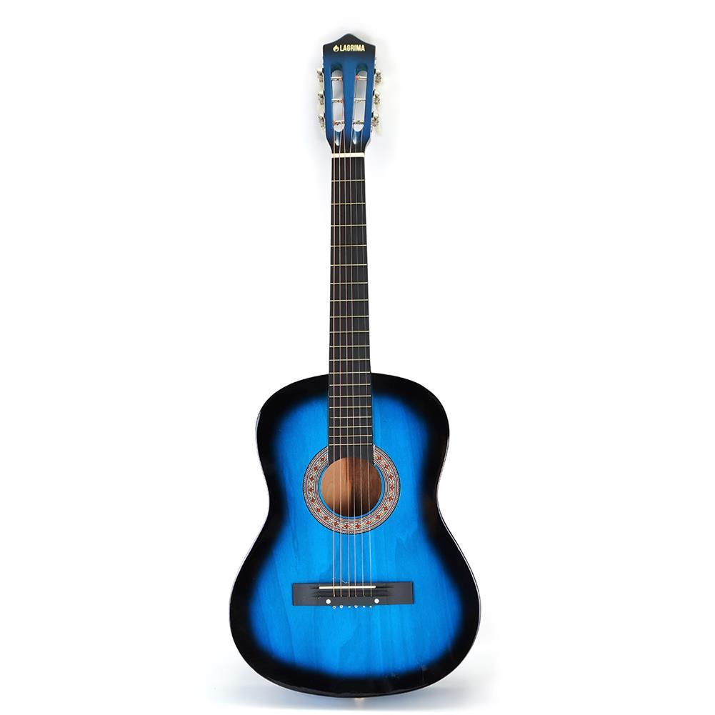 classical-guitars 38 inch 6 Strings Beginner Classical Guitar Starter Kit w/Case, Strap, Tuner, Pick, Strings HOB1633404 1