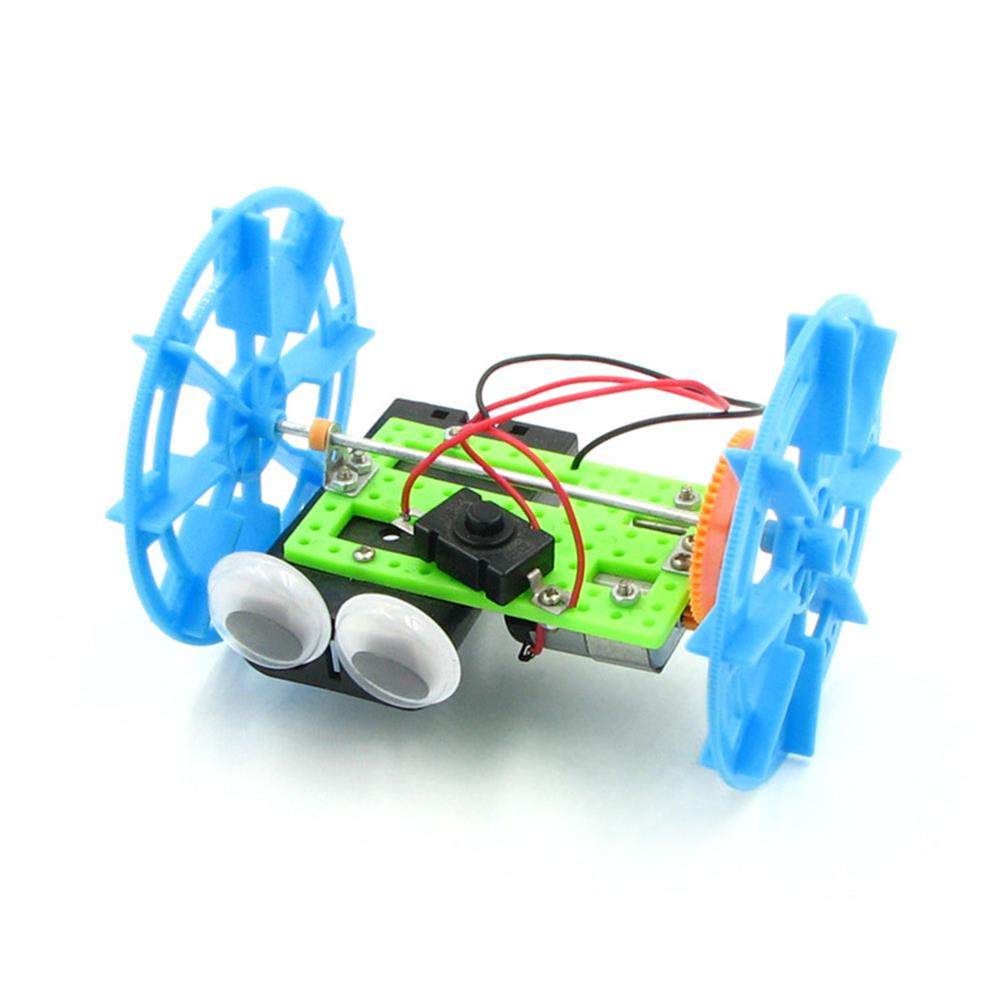 diy-education-robot Real Maker DIY STEAM Smart Self-balancing RC Robot Car Educational Toy Kit HOB1635678