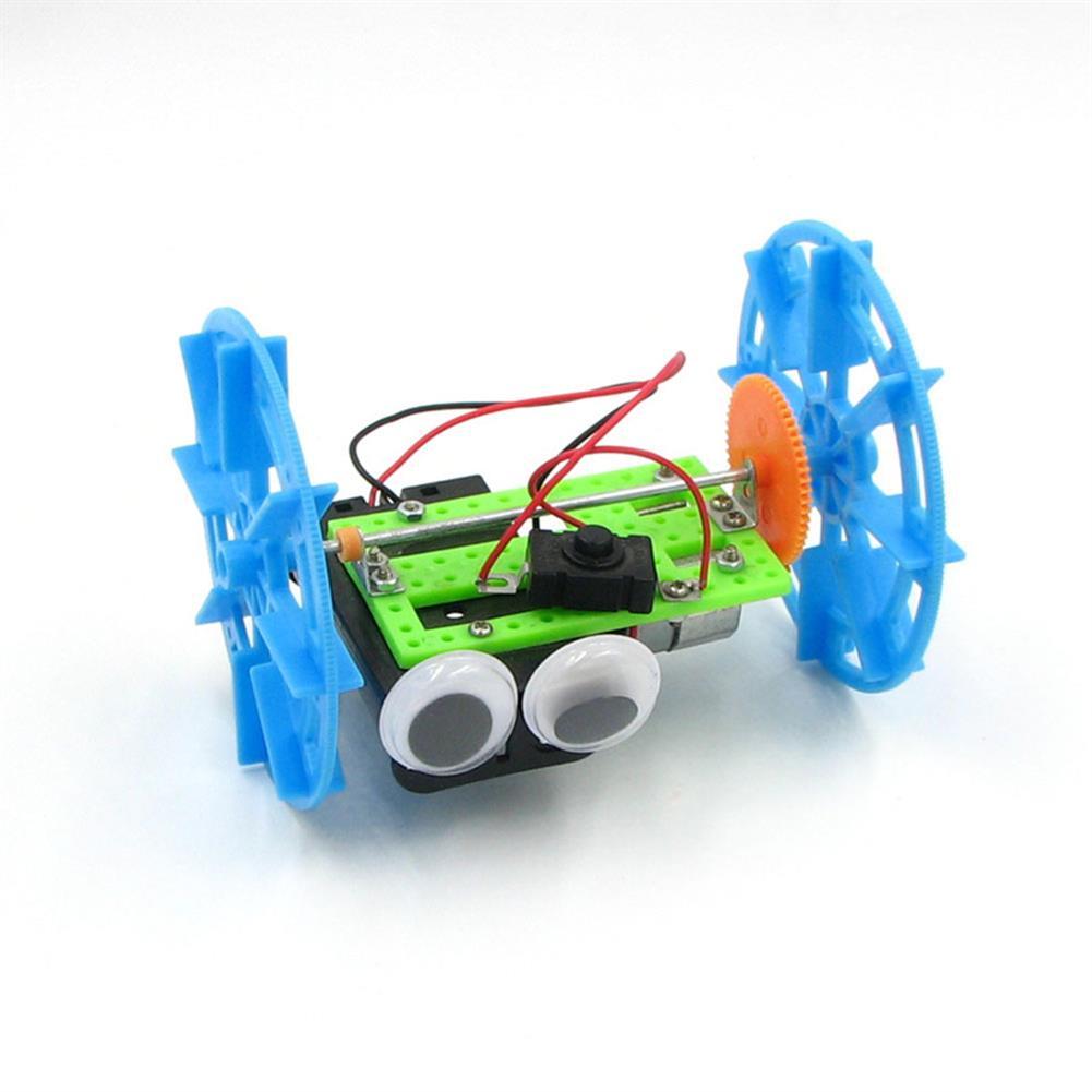 diy-education-robot Real Maker DIY STEAM Smart Self-balancing RC Robot Car Educational Toy Kit HOB1635678 1
