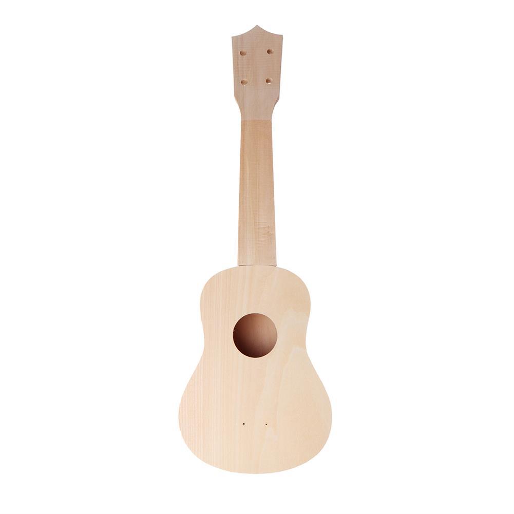 ukulele 21 inch Basswood Ukulele DIY Kit Handwork Support Painting Ukulele with Accessories HOB1635798 1