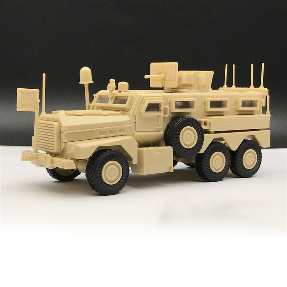 diecasts-model-toys 1/72 US Army Cougar American Modern 6x6 Mrap Vehicle Military Plastic Model Toys HOB1636210