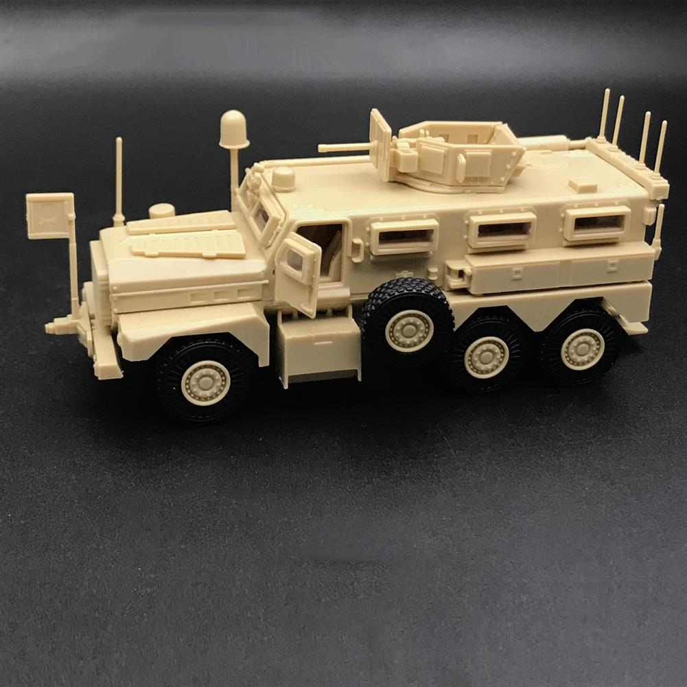 diecasts-model-toys 1/72 US Army Cougar American Modern 6x6 Mrap Vehicle Military Plastic Model Toys HOB1636210 1