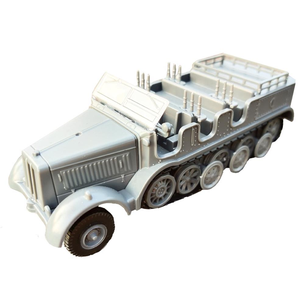 diecasts-model-toys 1/72 4D World War II Germany Armored Carrier Military Assembled Model Toys HOB1636268 1