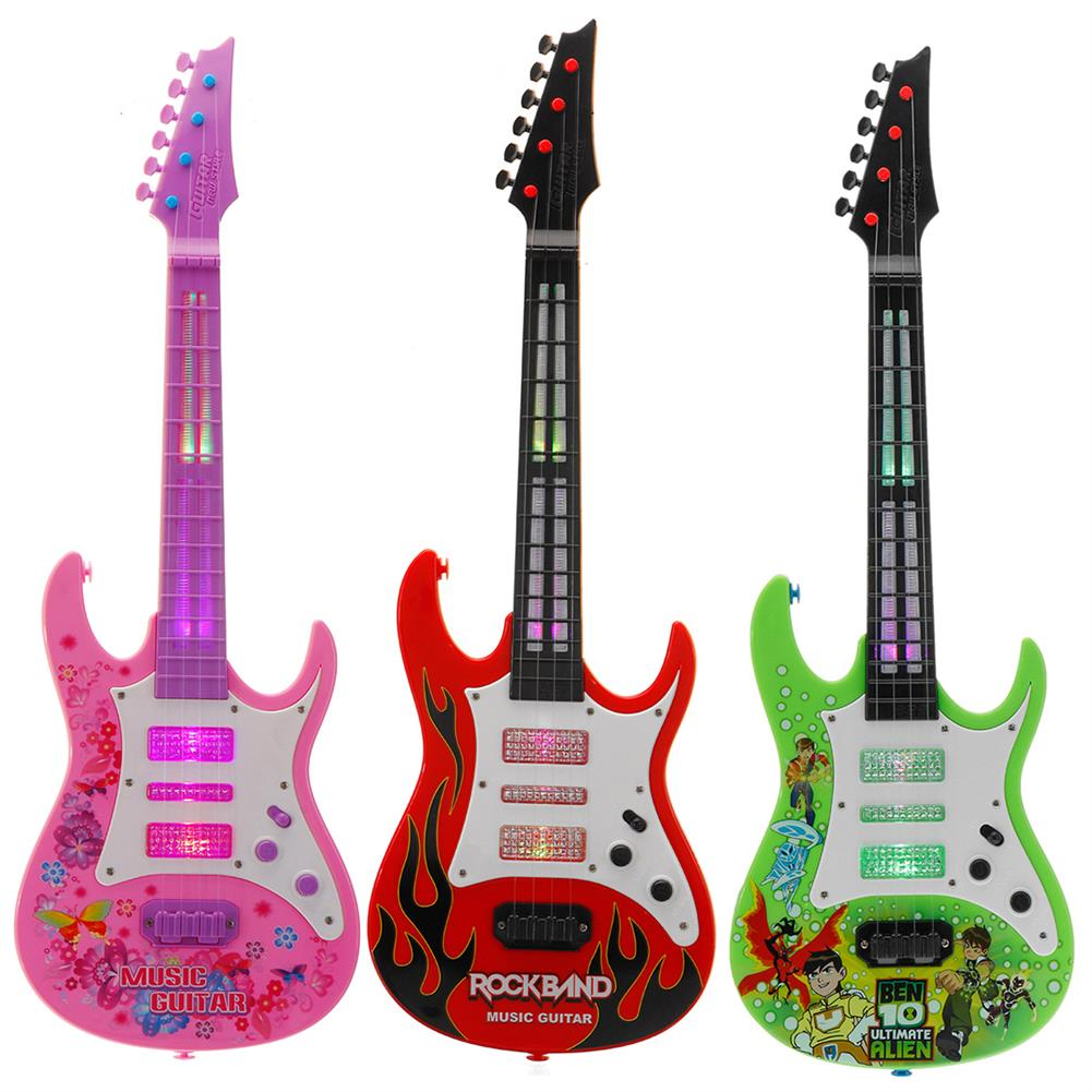 electric-guitars 4 String Music Electric Guitar Children's Musical instrument Children's Toy HOB1636411