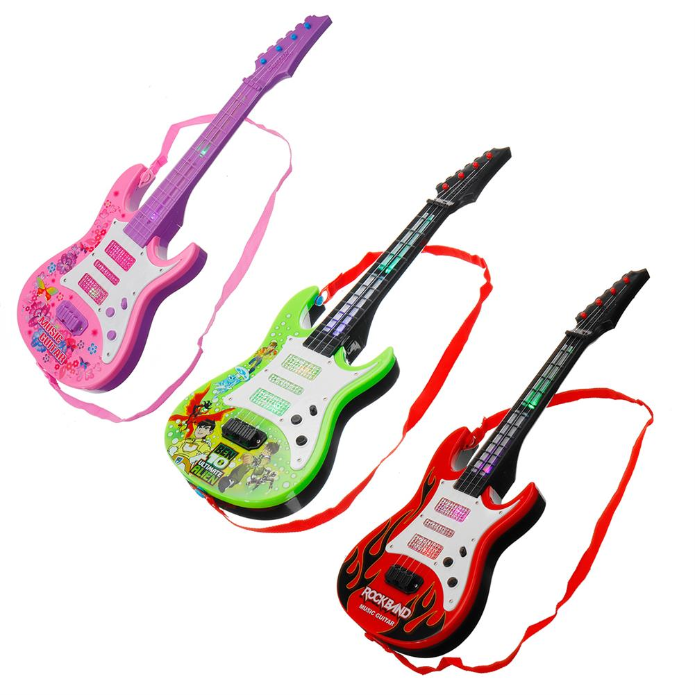 electric-guitars 4 String Music Electric Guitar Children's Musical instrument Children's Toy HOB1636411 1