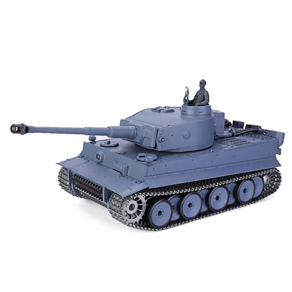 rc-tank-rc-vehicles Heng Long 6.0 Pro Version 3818-1 1/16 2.4G Germany Tiger I RC Battle Tank Metal Track RTR HOB1636426
