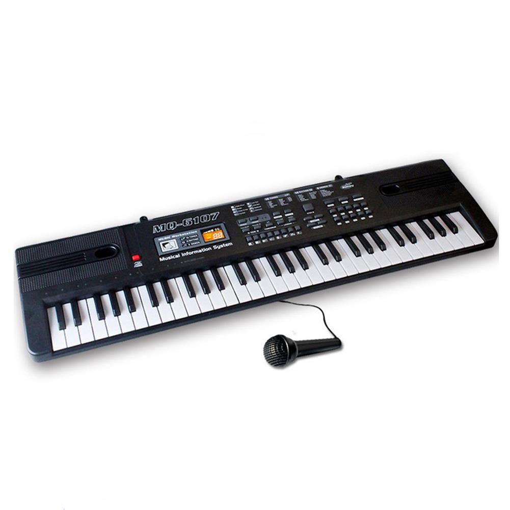 electronic-keyboards 61 Keys Children's Electronic Piano Keyboard Double Horn Stereo Sound with Microphone HOB1636470