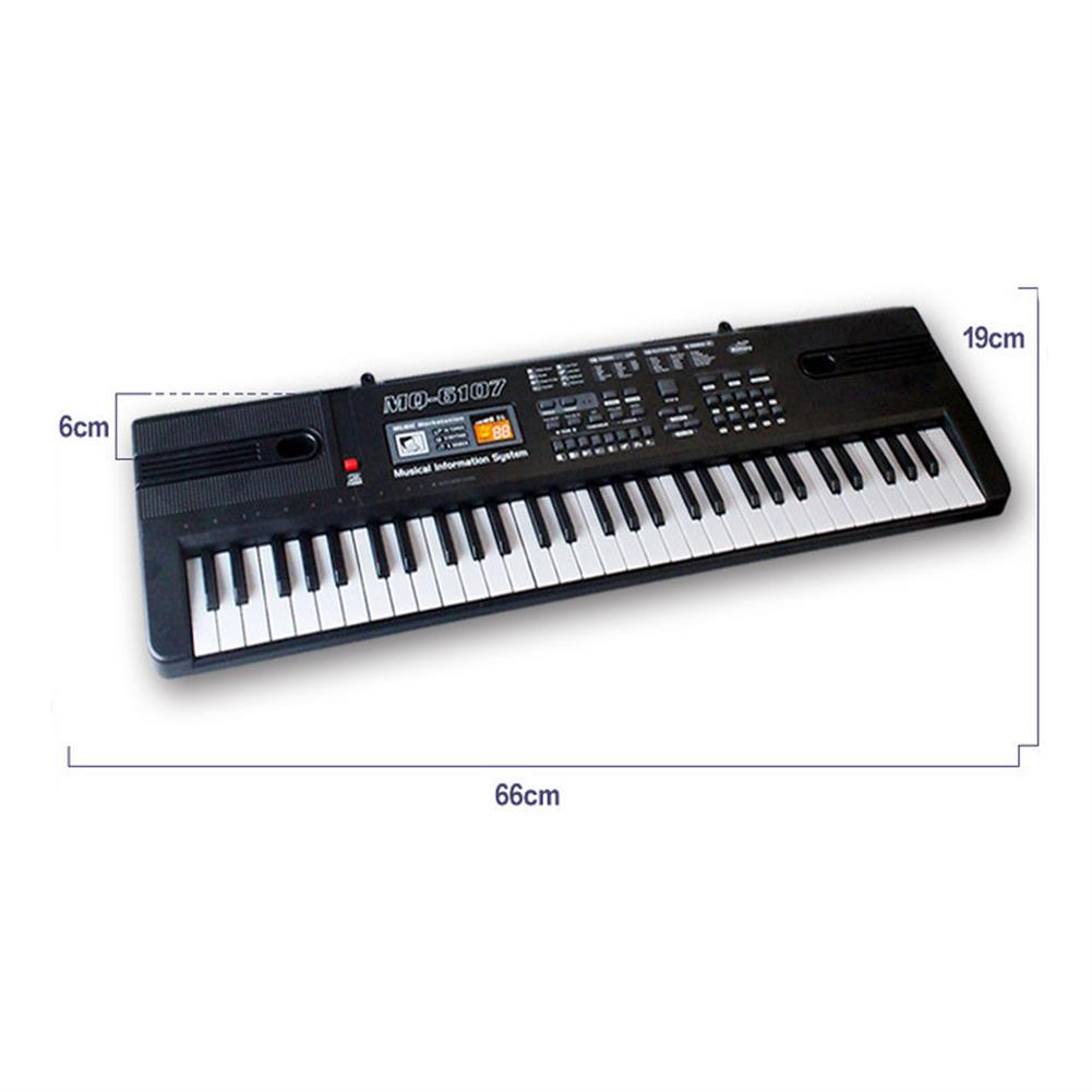 electronic-keyboards 61 Keys Children's Electronic Piano Keyboard Double Horn Stereo Sound with Microphone HOB1636470 1