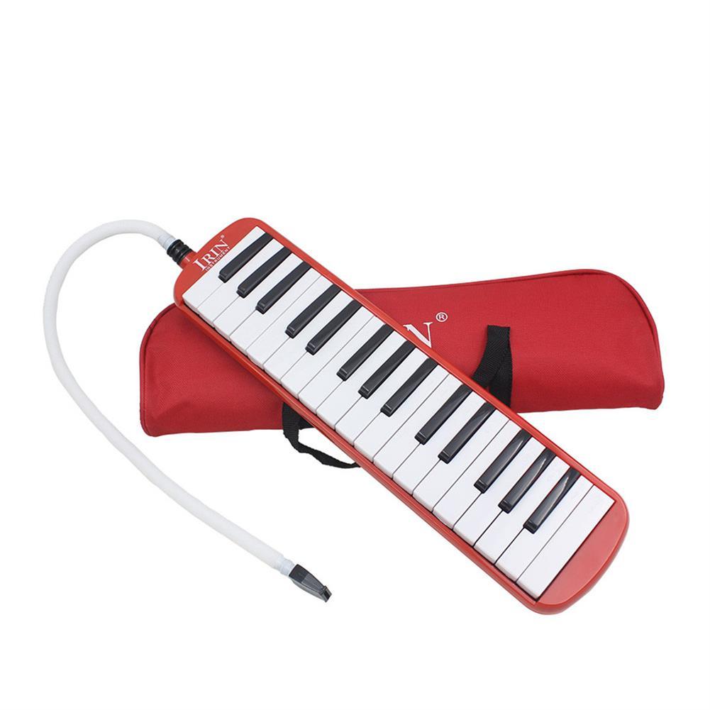 melodica IRIN 32 key Melodica Harmonica Electronic Keyboard Mouth Organ with Accordion Bag HOB1636580 1