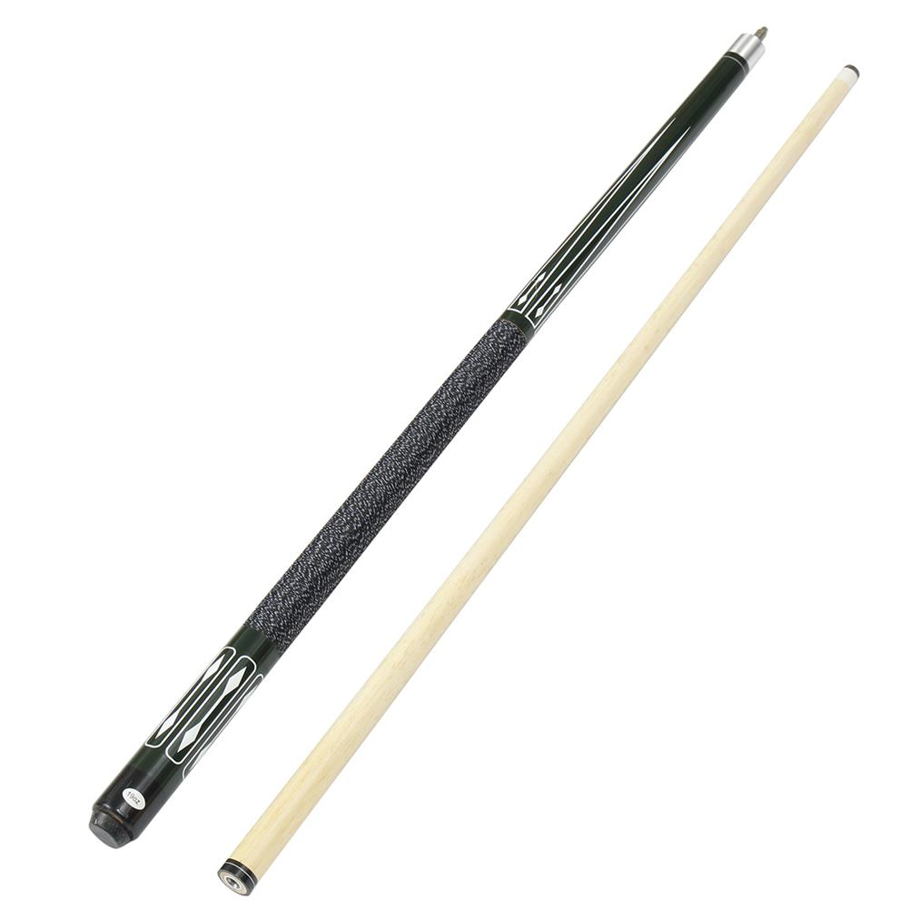 puzzle-game-toys 57'' Wooden Pool Snooker 2-Piece Jointed Cue Stick Billiard Game Rack Club Gift HOB1639769