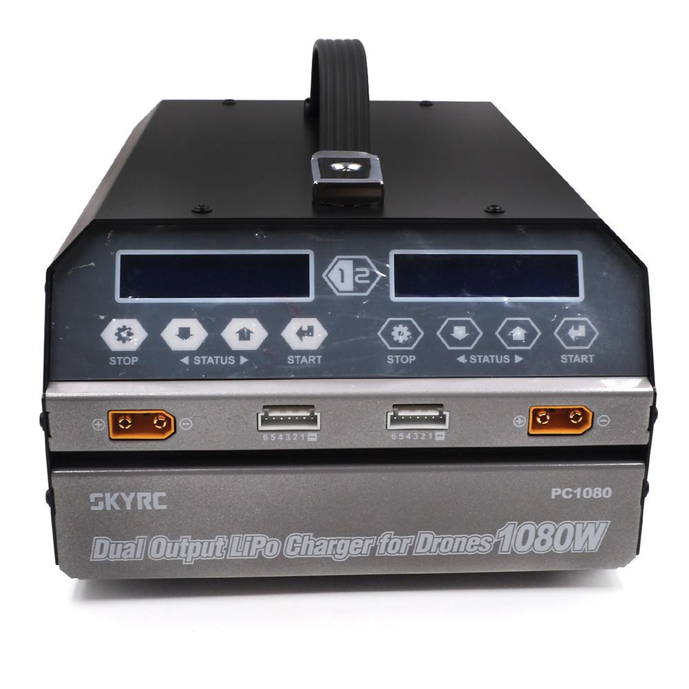 battery-charger SKYRC PC1080 1080W 20A AC Dual Channel Battery Charger LCD Screen for Lipo Battery HOB1643996 1
