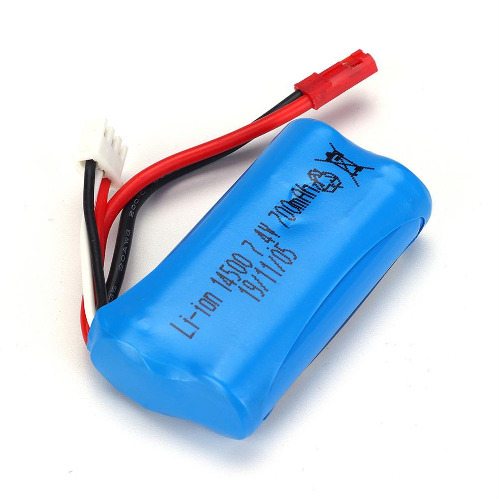 battery-charger HBX 18859E 1/18 7.4v 700mah Li-ion Battery RC Car Parts HOB1644764