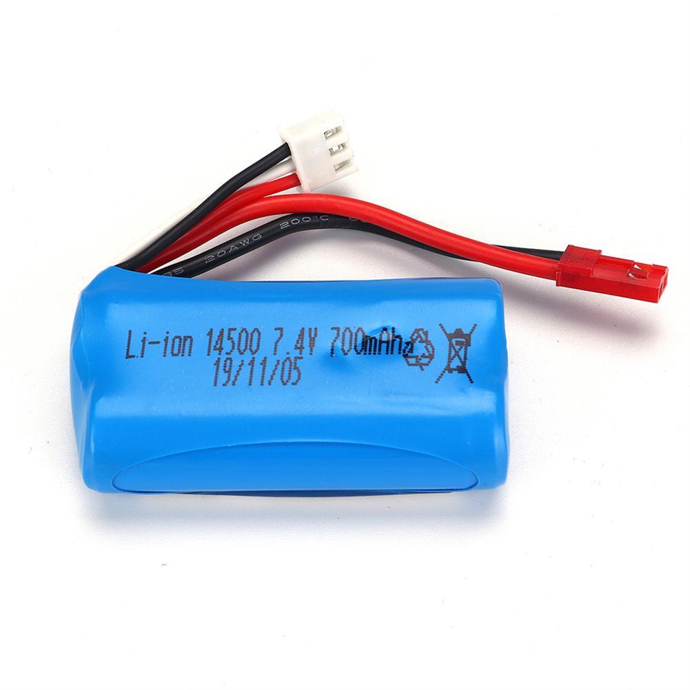 battery-charger HBX 18859E 1/18 7.4v 700mah Li-ion Battery RC Car Parts HOB1644764 2