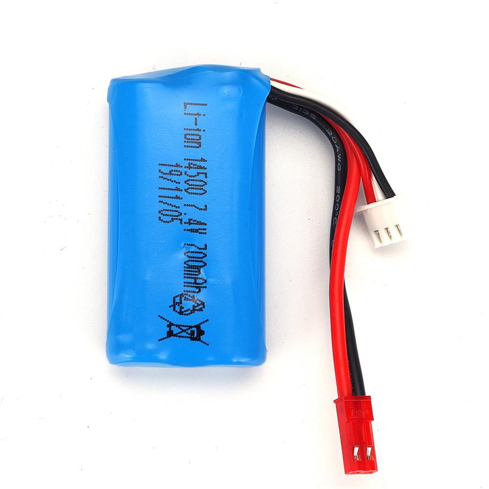 battery-charger HBX 18859E 1/18 7.4v 700mah Li-ion Battery RC Car Parts HOB1644764 3