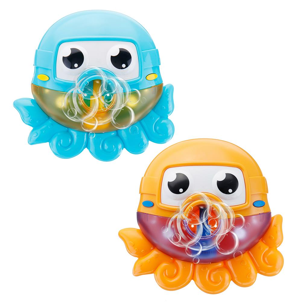 puzzle-game-toys Bath Water Toys Baby Kids Sucker Octopus Carton MUSIC Automatic Bubble Play Fun HOB1645221 2