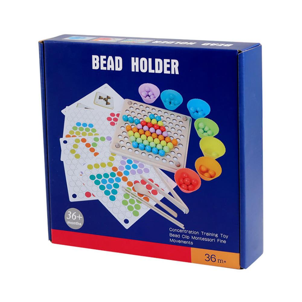 puzzle-game-toys Kids Early Learning Educational Montessori Color Sorting Wooden Toys Hands Brain HOB1646243 3