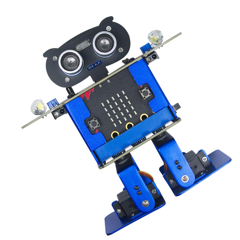 smart-robot Xiao R HappyBot Microbit Smart Programmable Obstacle Avoidance APP/Stick Control RC Dancing Robot HOB1647445 1
