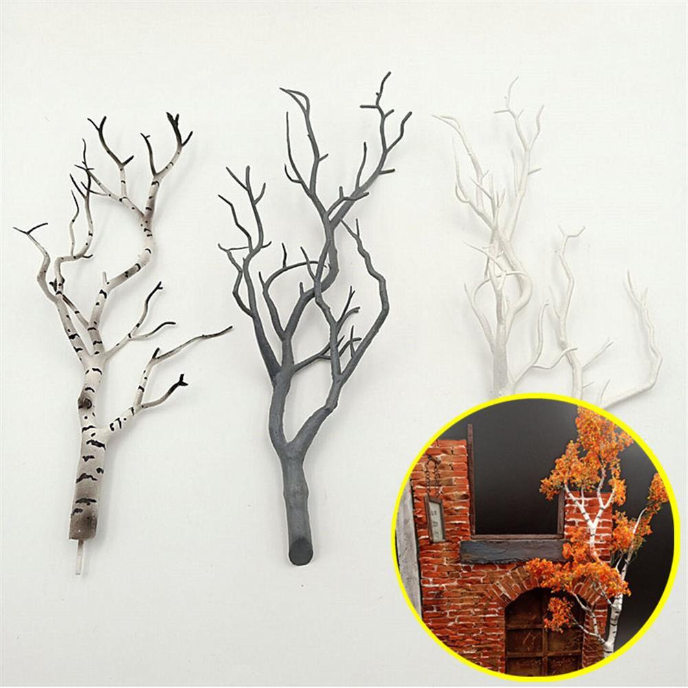 model-building Mini Tree Branch Model Military Scenario Train Sand Table DIY Scenery Materials Decorations HOB1647526