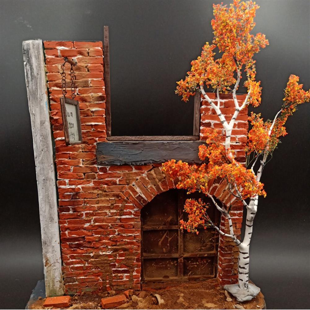 model-building Mini Tree Branch Model Military Scenario Train Sand Table DIY Scenery Materials Decorations HOB1647526 3