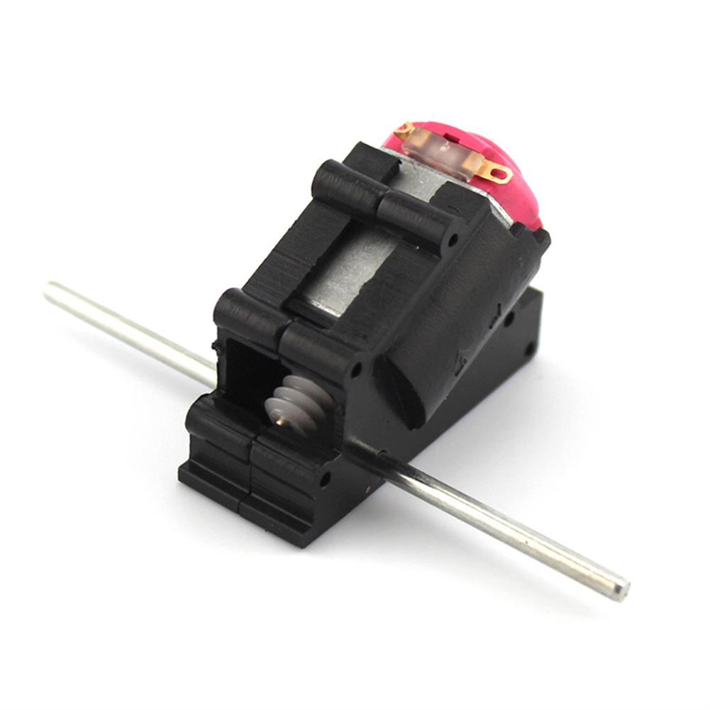 robot-parts-tools 4PCS Feichao 6V 1300RPM Dual Shaft Oblique Angled DC Gear Motor for DIY RC Models HOB1647550 1