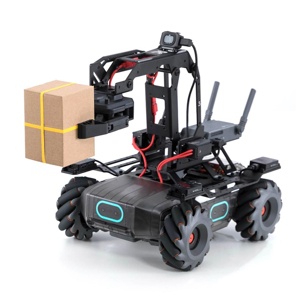 smart-robot DJI RoboMaster EP STEAM 4WD Brushless AI FPV APP Control Obstacle Avoidance RC Robot Arm Compatible Micro:bit Arduino Raspberry HOB1648458