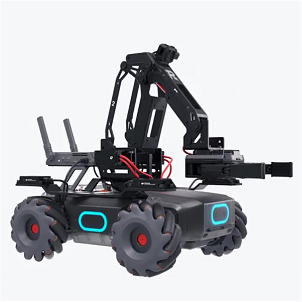 smart-robot DJI RoboMaster EP STEAM 4WD Brushless AI FPV APP Control Obstacle Avoidance RC Robot Arm Compatible Micro:bit Arduino Raspberry HOB1648458 1