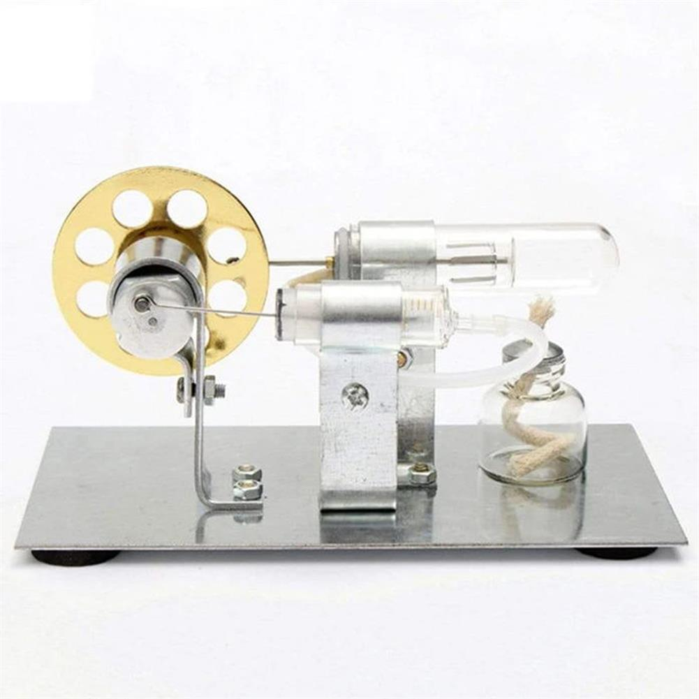 science-discovery-toys Stirling Engine Kit Motor Model DIY Educational Steam Power Toy Electricity Learning Model HOB1651997 1