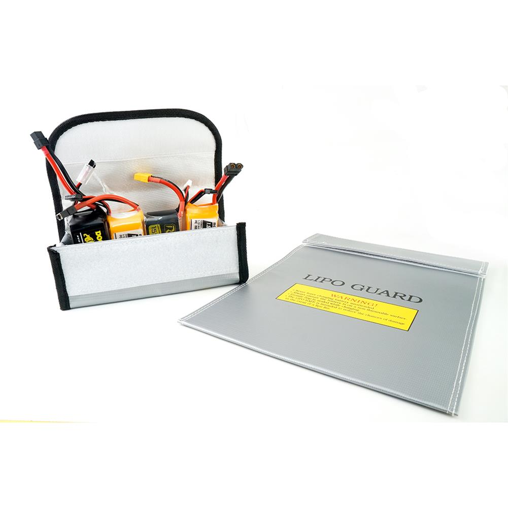 battery-charger HaMo Model Explosion-proof Fireproof Safe Storage Bag 85*75*65/230*300mm for RC LiPo Battery HOB1653152