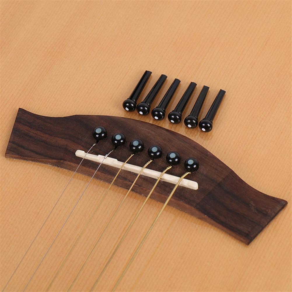 guitar-accessories Debbie Guitar Parts 1PC Guitar Saddle/Guitar Nut/Pin Puller 12 PCS Bridge Pins HOB1653157 3