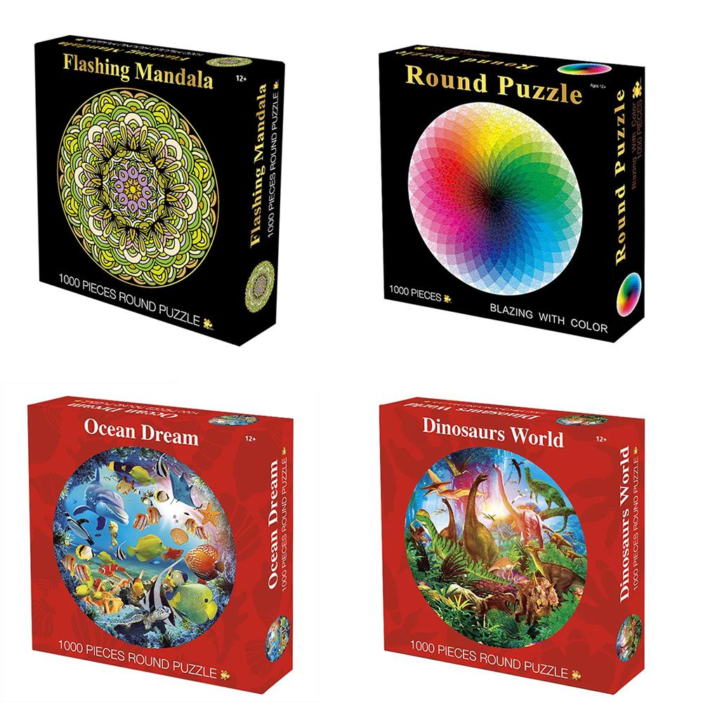 puzzle-game-toys 1000 Pieces Thousands of Colors Rainbow Coil Series Children's Gift Jigsaw Puzzle Toy Educational Toys HOB1654342 3