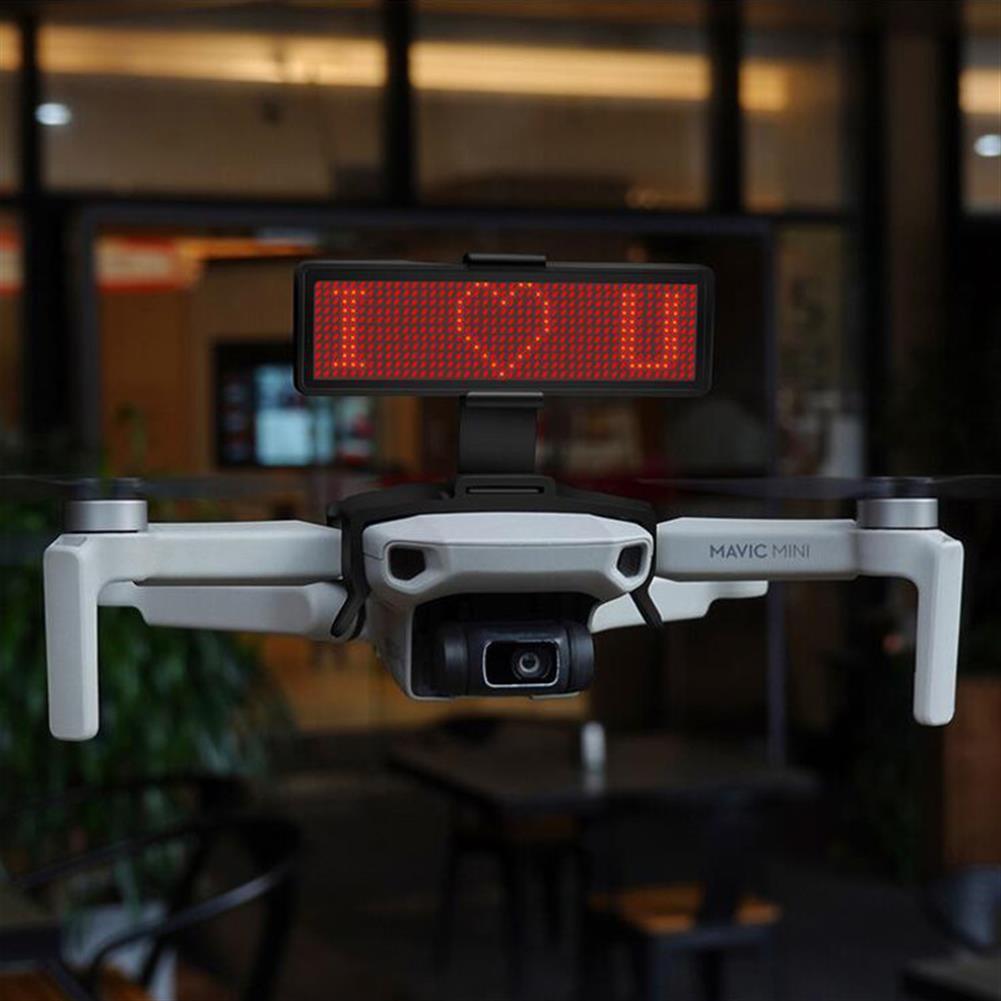 rc-quadcopter-parts STARTRC LED Display Screen Kit Bluetooth Editable Expansion Accessories for DJI Mavic Mini Drone HOB1654951