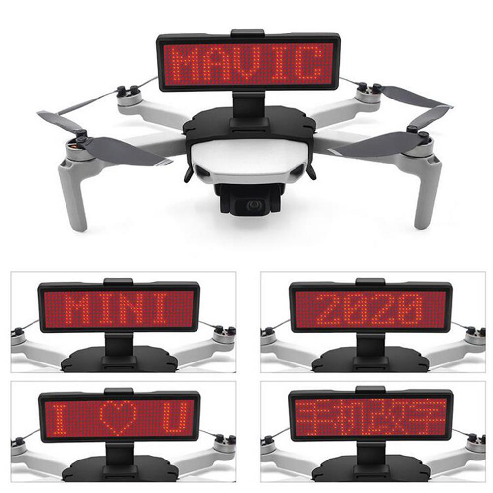 rc-quadcopter-parts STARTRC LED Display Screen Kit Bluetooth Editable Expansion Accessories for DJI Mavic Mini Drone HOB1654951 3