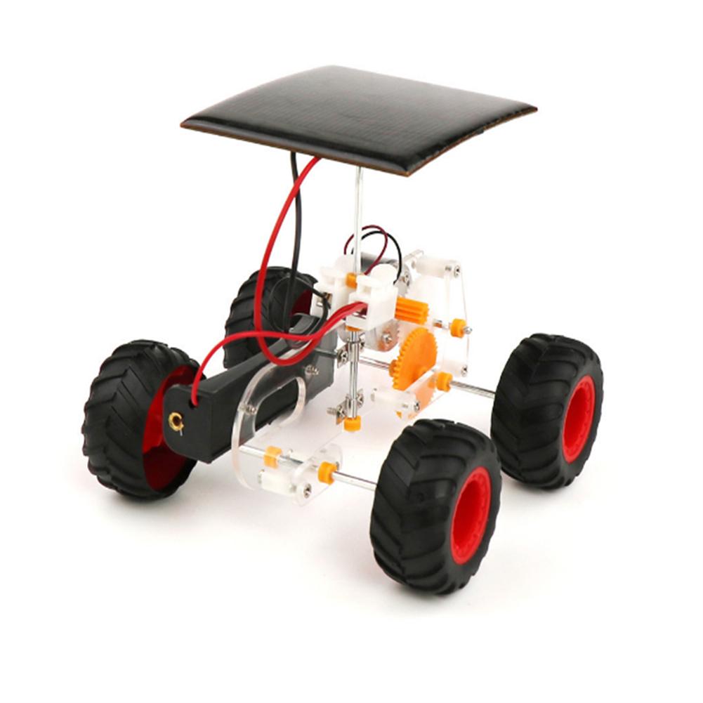 solar-powered-toys DIY Solar Electric Hybrid Car Manual Electric Mechanical Car Technology Small Production Solar Powered Toy HOB1654972 1