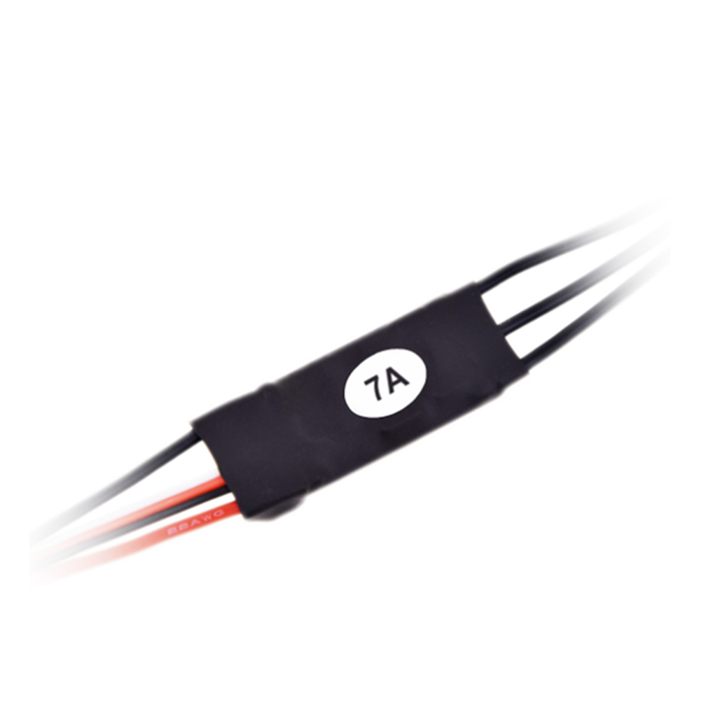 rc-airplane-parts AFRC SN-7A Micro Brushless ESC with 5V/1A BEC 2S for RC Airplane Spare Part HOB1655655 2