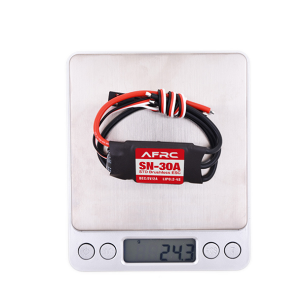 rc-airplane-parts AFRC SN-30A STD Brushless ESC with 5V/2A BEC 2-4S for RC Airplane Spare Part HOB1655656 3
