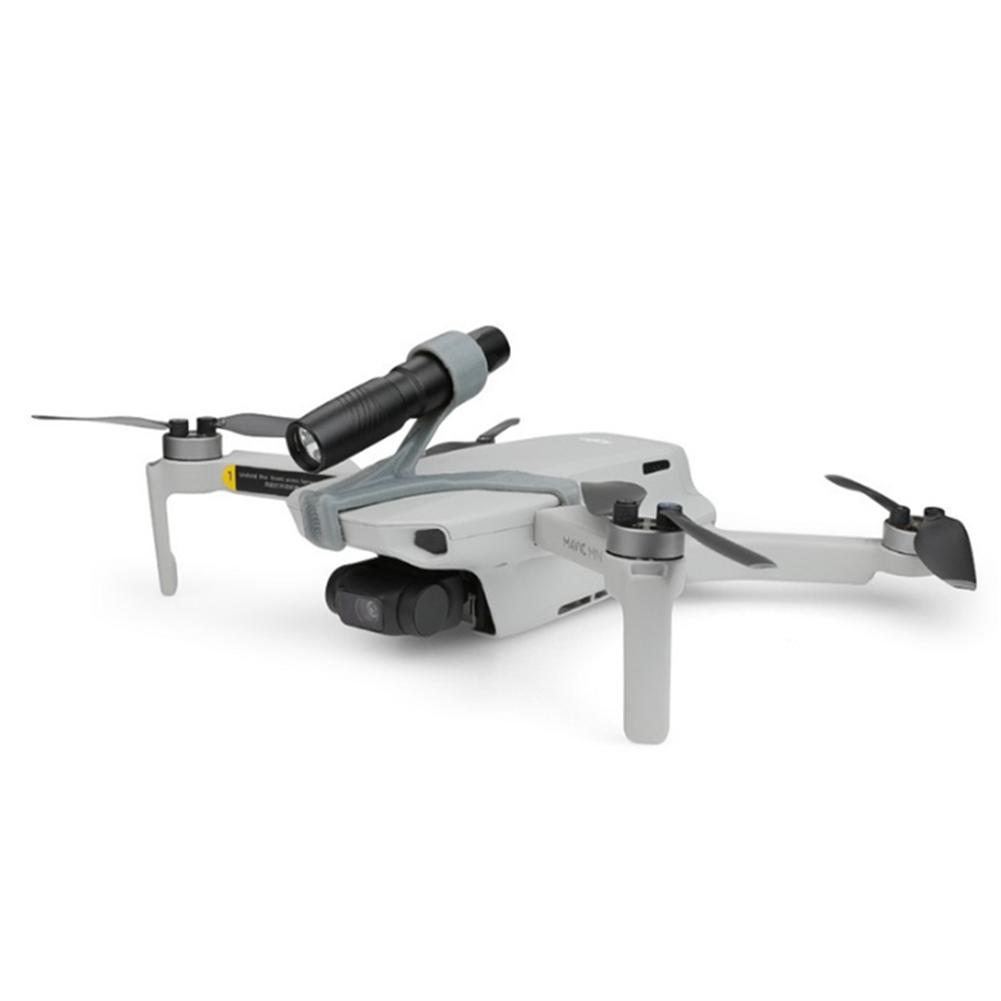 rc-quadcopter-parts Night Flight LED Light Flashlight Spotlight with 3D Printing Holder for DJI Mavic mini RC Drone HOB1655999 1