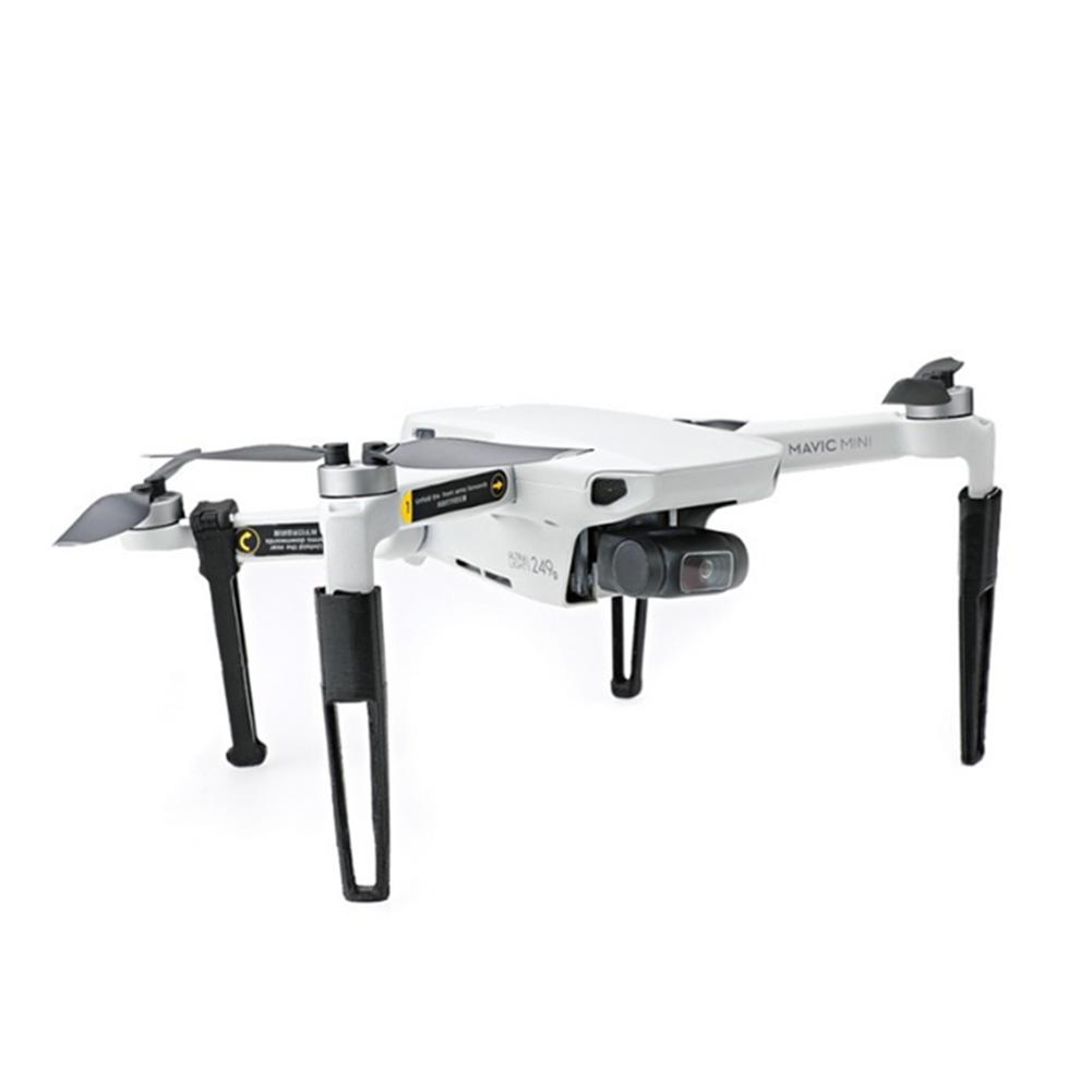 rc-quadcopter-parts Landing Gear Extended 3D Printed Heighten Leg Tripod Accessories for DJI Mavic Mini RC Quadcopter HOB1656250 2