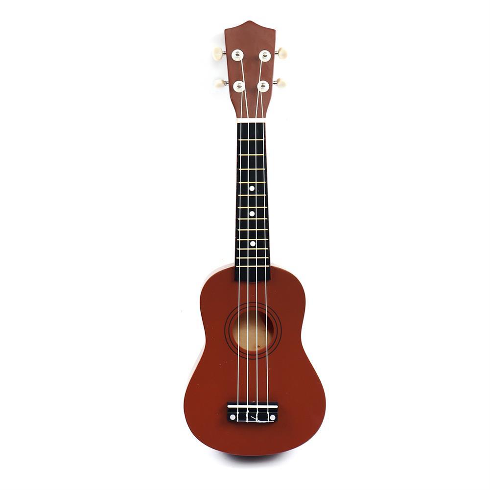 ukulele 21 inch 4 Strings Wood Hawaii Ukulele Musical instrument with Gig Bag Strings Tuner Strap HOB1656318 1