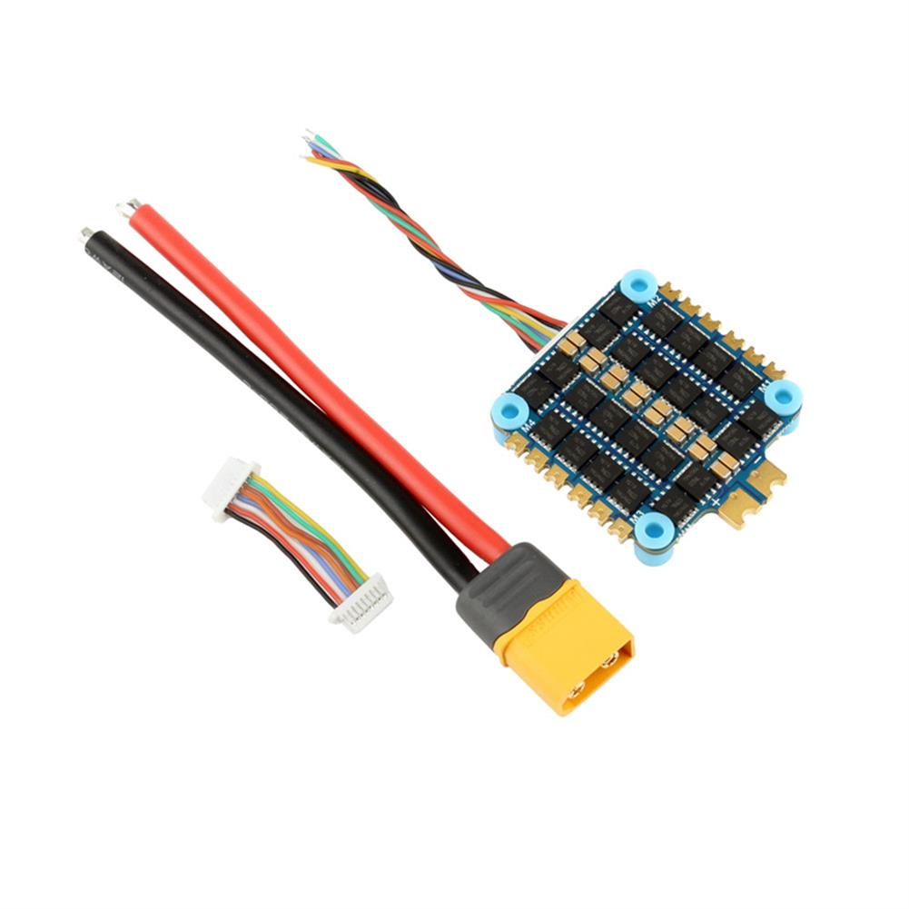 multi-rotor-parts 30.5x30.5mm CYCLONE XF305-BLS 45A BLheli_S 2-6S 4in1 Brushless ESC for RC Drone FPV Racing HOB1659673 3