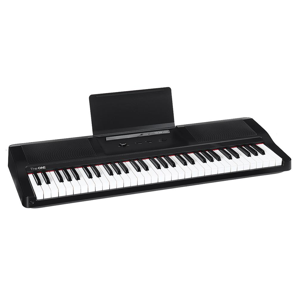 electronic-keyboards theONE TOK1 61 Keys Smart Electronic Piano Organ Light Keyboard Smart Piano Lang Lang Recommended HOB1659828 1