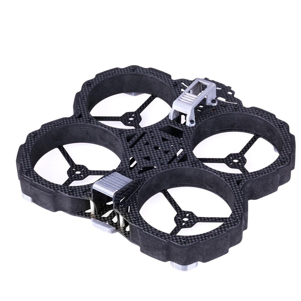multi-rotor-parts Flywoo Chasers DJI Version 138mm 3K Carbon Fiber Frame Kit w/ Ducts Compatible DJI Air Unit for RC Drone HOB1660330
