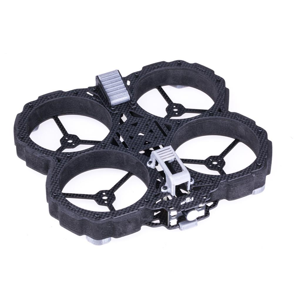 multi-rotor-parts Flywoo Chasers DJI Version 138mm 3K Carbon Fiber Frame Kit w/ Ducts Compatible DJI Air Unit for RC Drone HOB1660330 1
