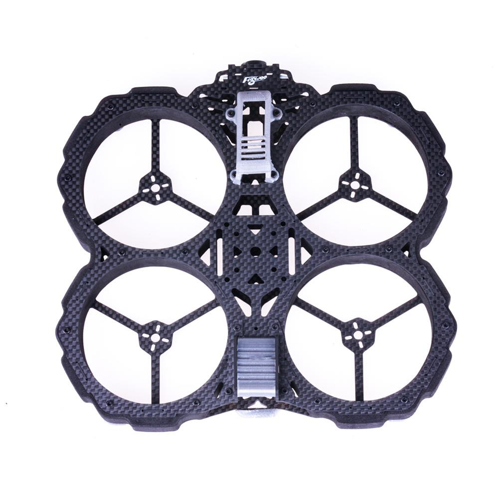 multi-rotor-parts Flywoo Chasers DJI Version 138mm 3K Carbon Fiber Frame Kit w/ Ducts Compatible DJI Air Unit for RC Drone HOB1660330 3