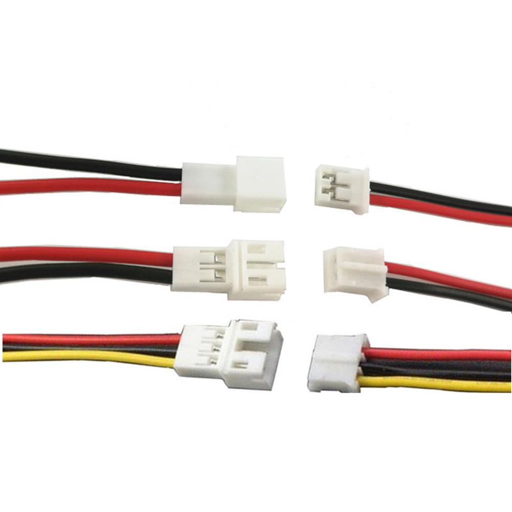 rc-quadcopter-parts 10Pcs DIY Mini PH2.0mm 2PIN/3PIN/4PIN/5PIN/6PIN 10CM Male Female JST Connector Terminal Plug Cable Wire 20mm for RC Model Battery HOB1661165